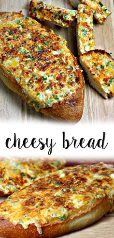 """PLEASE bring THAT Cheesy Bread is crunchy, gooey, and ridiculously flavorful. A little DIFFERENT from all the rest! People are always asking for this recipe. This is the one they will remember."""