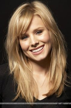 haircuts for long hair with layers and side bangs - Google Search