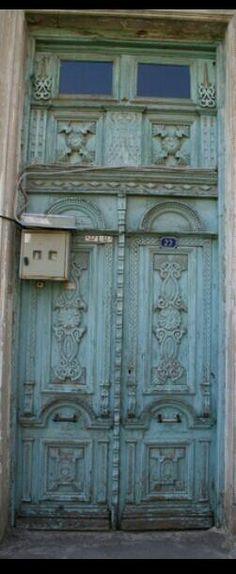 Old door.Turkey