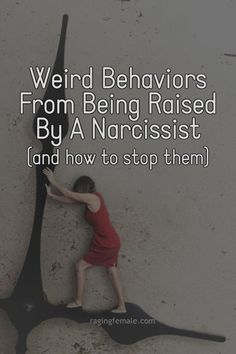 After being raised by a narcissist, you might have some weird behaviors you don't understand. There's a very good reason for this and a way to fix it, so it stops happening. Daughters Of Narcissistic Mothers, Narcissist Father, Narcissistic Children, Narcissistic People, Narcissistic Abuse Recovery, Narcissistic Behavior, Narcissistic Sociopath, Narcissistic Personality Disorder, Children Of Narcissists