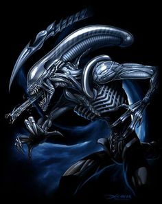 30 Stunning and Scary Images of Alien Artworks