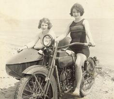 Harley's homage to women riders as early as 1910