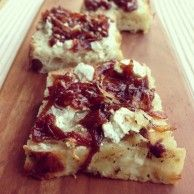 Caramelized Onion and Cheese Focaccia