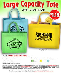 Increase Brand Recognition with Custom Logo Totes