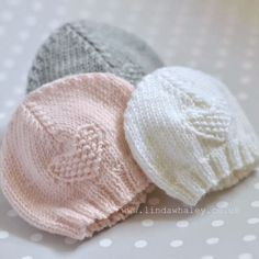 Shop our huge collection of knitting patterns for sale with easy filters to find just the right project—available as pattern books, project kits and PDFs. Baby Cardigan Knitting Pattern Free, Baby Hats Knitting, Free Knitting, Baby Knitting Patterns Free Newborn, Knitted Baby Hats, Free Baby Knitting Patterns, Simple Knitting, Beanie Pattern, Crochet Baby