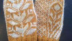 Klassiske vottar – Eg sa strikk! Diy And Crafts, Fingerless Gloves, Tricot