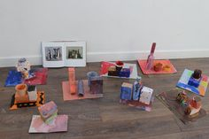 History of art class at 3 House Club – children created their own still-life compositions out of bottles and boxes that they painted (inspired by the paintings of Giorgio Morandi). They then drew from observing their models and created original still life paintings - focusing on the expression of light and shadows.
