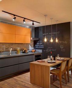 Cozinha   |  Instagram @_maisdecor