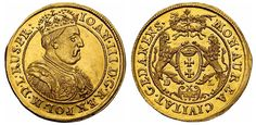 Poland (Danzig) AV 2 Dukats ND (1683) John III Sobieski Struck to honor his victory over Turkish Army at Vienna in 1683.