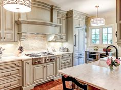 European Elegance in Crave-Worthy Kitchen Cabinets from HGTV