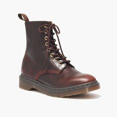 can you believe it's that time again? // dr. martens 1460 mono boots.
