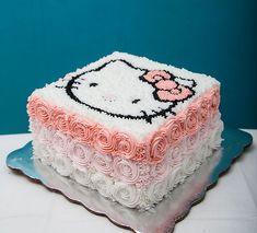 Diseño en crema Hello Kitty
