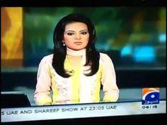 Geo News Anchor Singing songs Behind Camera