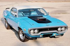 71 Plymouth Roadrunner  in Petty blue