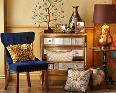 Welcome the season with beautiful finishes and a lot of shiny details from Pier 1
