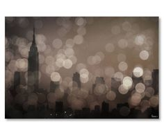 Digitale print NY Sleeping op canvas, 152 x 114 cm | Westwing Home & Living