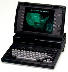 Dell 316LT - one of the first Dell-branded laptops  #ThrowbackThursday #TBT