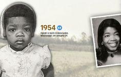 Oprah Winfrey's hair through the years
