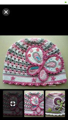 375 mejores imágenes de Gorros y sombreros en crochet en 2019 ... a25a1a08a39
