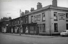 Ashton old Road had plenty of pubs - including The Cromwell Inn, pictured here in 1960