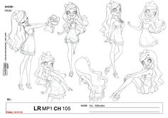 Princess Iris is the main protagonist of LoliRock. She is the princess of Ephedia and frontwoman of the girl band LoliRock. She is best friends with Auriana and Talia after being chosen as the band's vocalist. She is training to reclaim the throne of Ephedia from Gramorr.