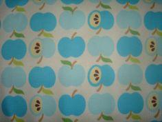Bio-Interlock Jersey ♥ An apple a day ♥ türkis