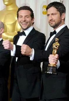 Gerard Butler & Bradley Cooper