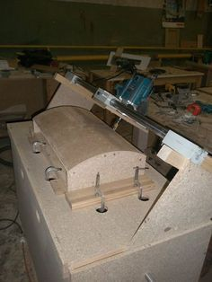 making curved doors #1: making curved doors - by Rembo @ LumberJocks.com ~ woodworking community