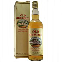 Old Rhosdhu 5 year old Single Malt Whisky Loch Lomond Distillery available to buy online at specialist whisky shop whiskys.co.uk Stamford Bridge York