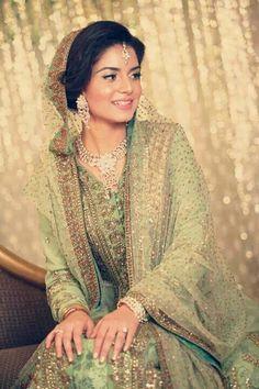Bangladeshi bride Ifrah Uddin Engagement color swatch palette shade