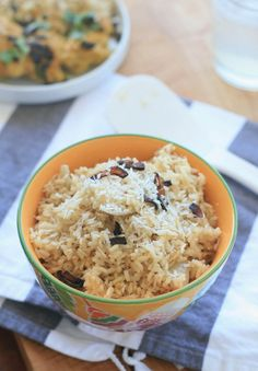 Burmese Coconut Rice