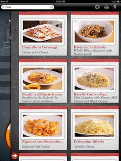 lovely ui (photo thumbnails on Mario Batali Cooks!)