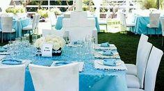 El color turquesa es ideal para decorar bodas