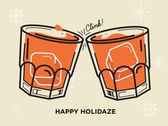 Happy Holidaze by Mallory Ming