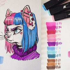 Idk if these are Copic markers but..