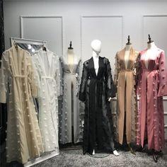 Modest Fashion Hijab, Abaya Fashion, Muslim Fashion, Fashion Dresses, Dress Robes, Caftan Dress, Kimono Abaya, Hijab Dress, Mode Abaya