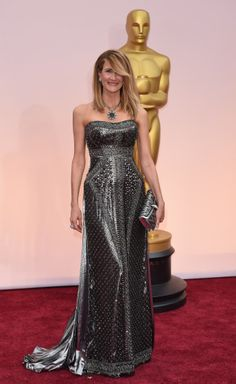 The hottest looks from the Oscars red carpet | New York Post Laura Dern... hair ....