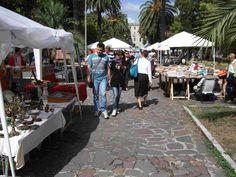 Il mercatino di piazzale delle Belle Arti  Aperto la quarta domenica del mese: prodotti tipici gastronomici, arte e moda del passato