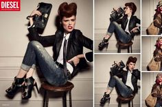 Diesel A/W '12 Campaign > photo 1855562 > fashion picture