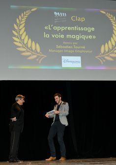 La surprise pour les gagnants du CLAP D'ARGENT ! #disney #emploi #job #disneylandparis #jflmqmp #video #film
