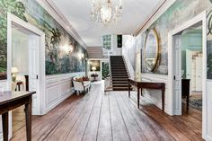 This Georgian gem—the oldest house in Washington, D.C.—was originally built in the 1750s in Danvers, Massachusetts. In the 1930s, it was relocated to the nation's capital by a prominent D.C. couple who wanted an authentic Colonial residence to complement their collection of 17th- and 18th-century Americana.