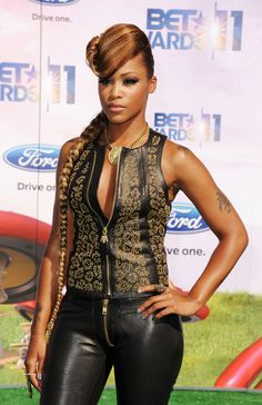 Eve the Rap Artist | Eve Rapper Eve arrives at the BET Awards '11 held at the Shrine ...