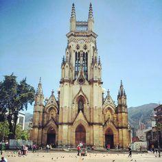 Lourdes church, Bogotá, Colombia