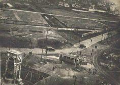 Taksim'in gerçek bir meydan olma fırsatı 1930'larda imara açılan Talimhane ile yitirilmiş. (Fotoğraf yılı: 1928)