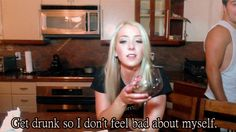 on teens my drunk girl