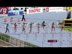 Michelle Jenneke's Awesome Warm-Up Dance!