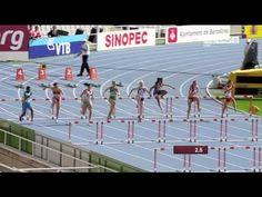 Michelle Jenneke's Pre-Race Routine Dance - 100m hurdles - World Junior Championships, Barcelona