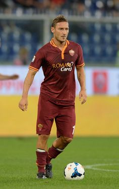 Totti Francesco, As Roma, Champs, Rome, Soccer, Sport, Celebrities, Fitness, Athletes