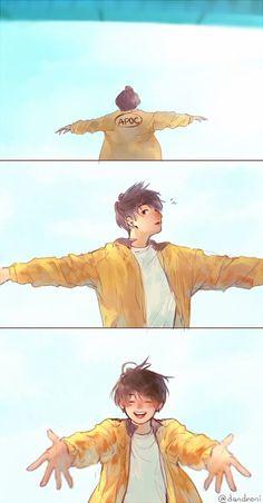 Nada interesante :v fan art drawing Vkook/Kookv FanArts Jungkook Fanart, Bts Jungkook, Fanart Bts, Vkook Fanart, Taehyung, Bts Chibi, Anime Chibi, Dossier Photo, Kpop Anime