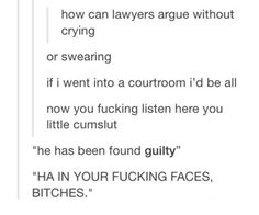 This would be Dan if he had became a lawyer... *shudders at the thought of him as a lawyer, not making YouTube videos with Phil*